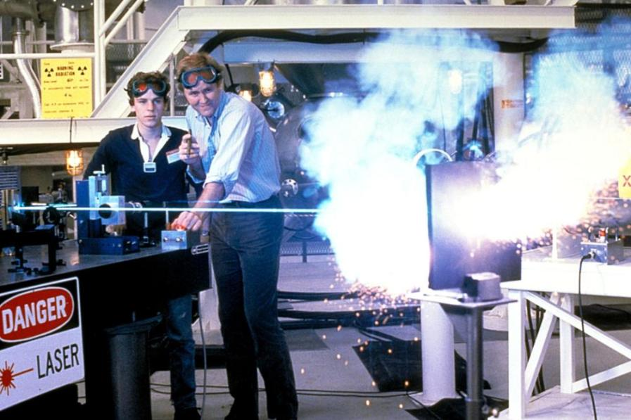 THE MANHATTAN PROJECT, Christopher Collet, John Lithgow, 1986, TM & Copyright (c) 20th Century Fox Film Corp. All rights reserved.